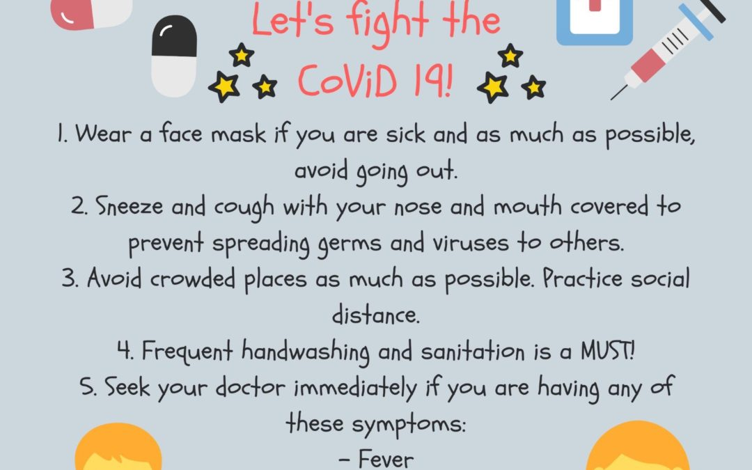 Let's fight Covid-19
